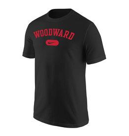 NIKE Core Cotton SS T Shirt in Black