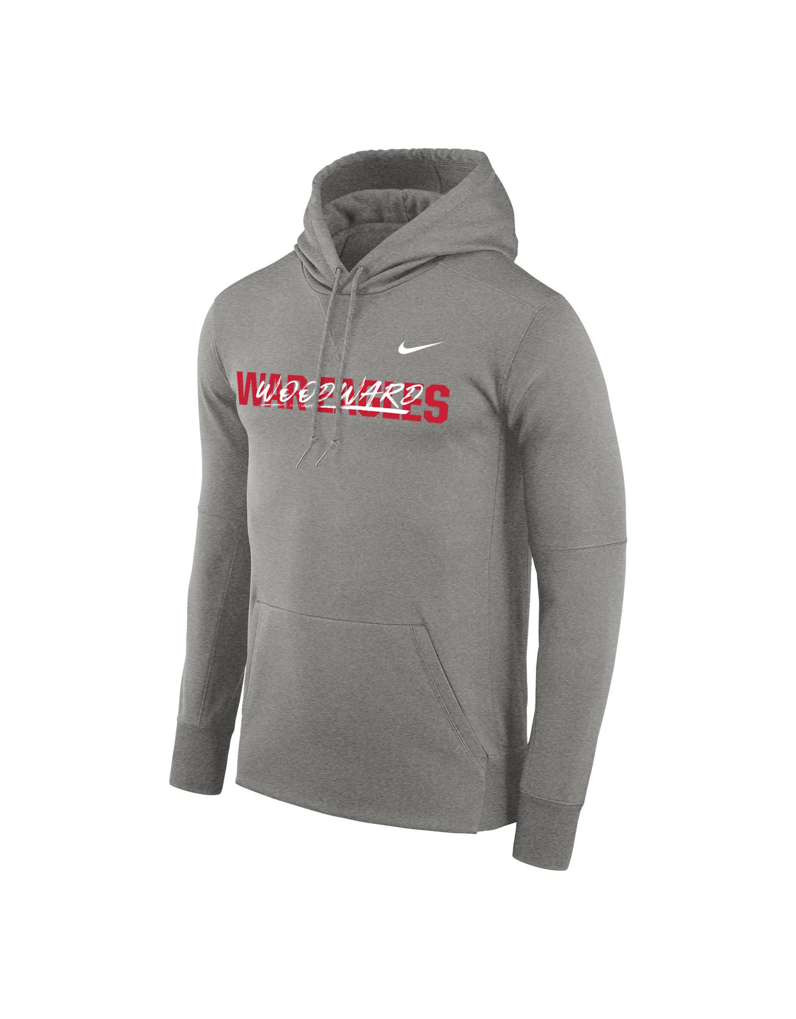 NIKE Therma PO Hooded Sweatshirt in Dark Heather