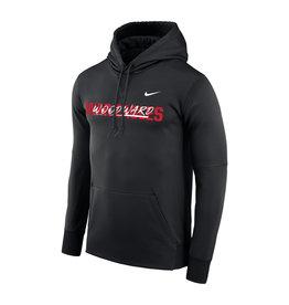 NIKE Therma PO Hooded Sweatshirt in Black