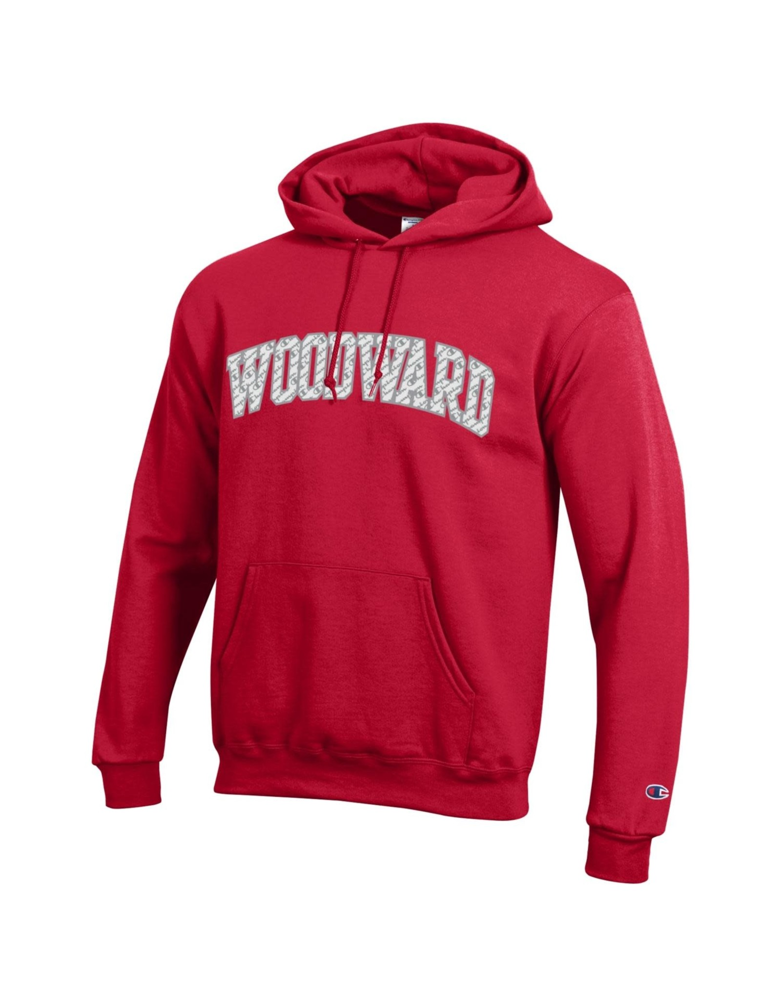 Champion Woodward Hooded Sweatshirt In Red