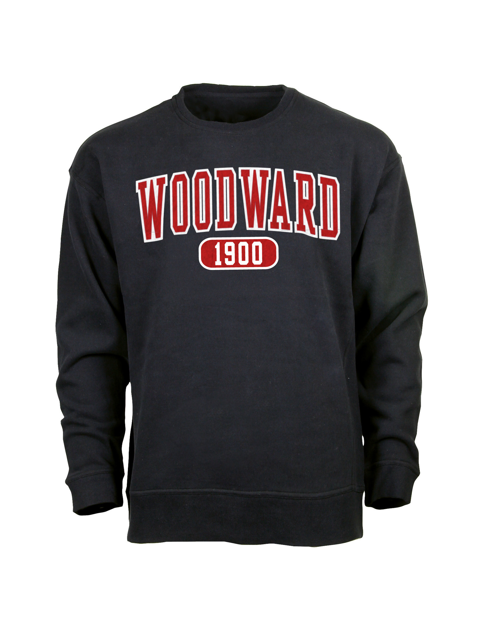 Ouray Woodward 1900 Crew Sweatshirt in Black