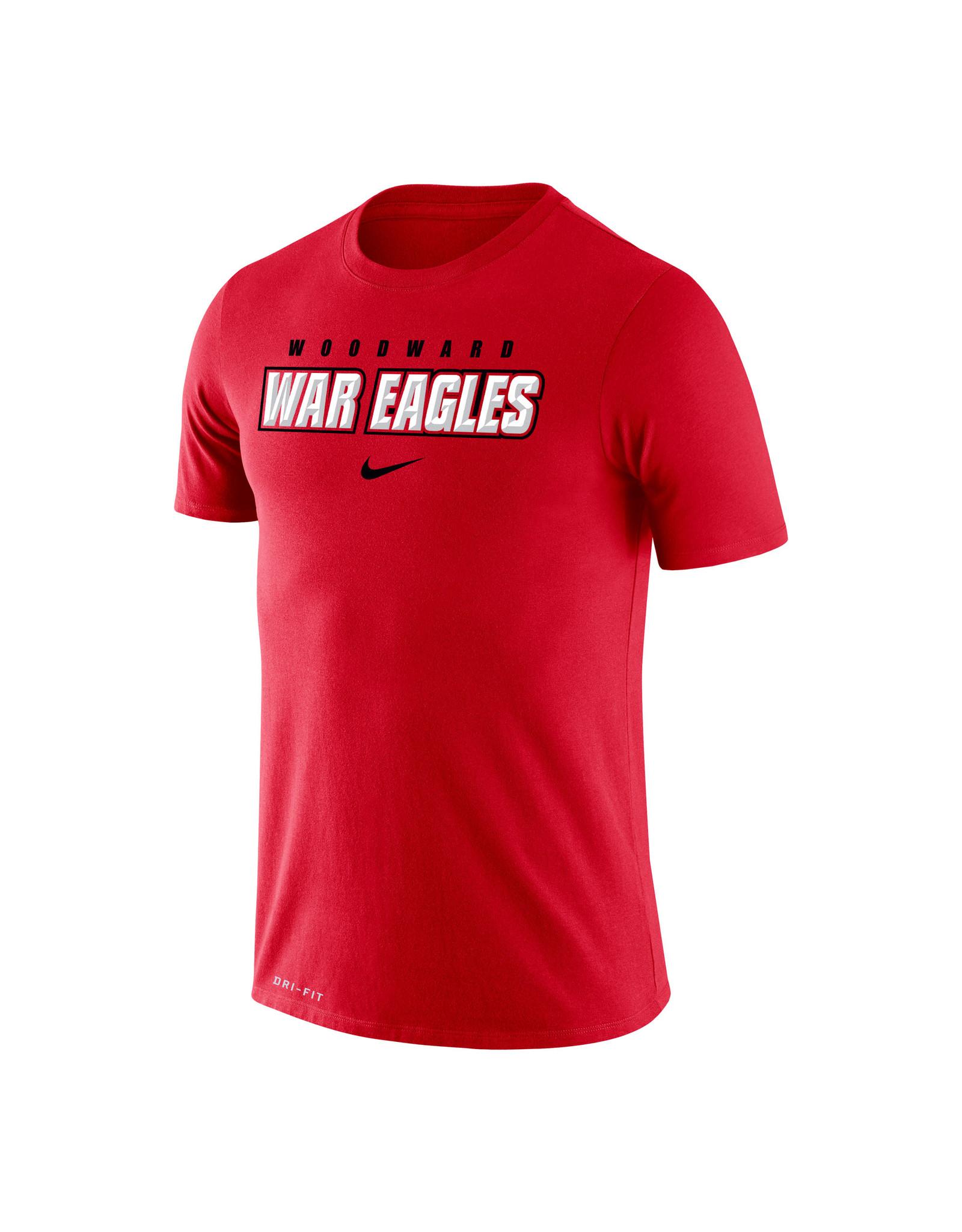 NIKE Legend Dri-Fit SS T Shirt in Red (2XL)