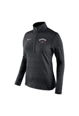 NIKE ladies Embossed Dri-Fit 1/2 Zip Pullover
