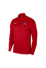 NIKE Pacer 1/4 Zip Pullover in Red