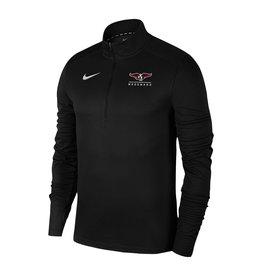 NIKE Pacer 1/4 Zip Pullover in Black