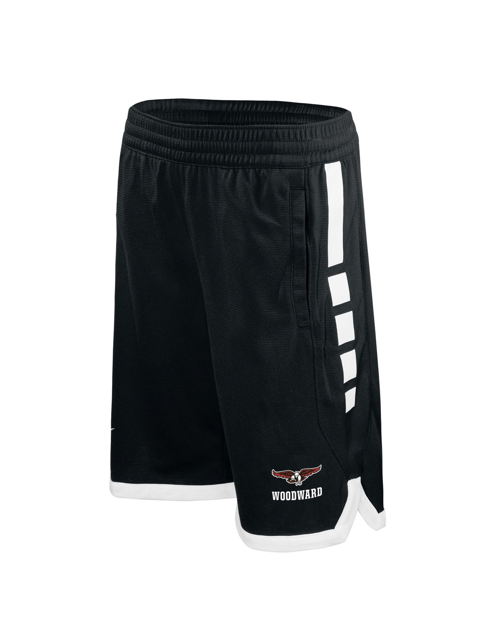 NIKE Youth Elite Stripe Shorts in Black