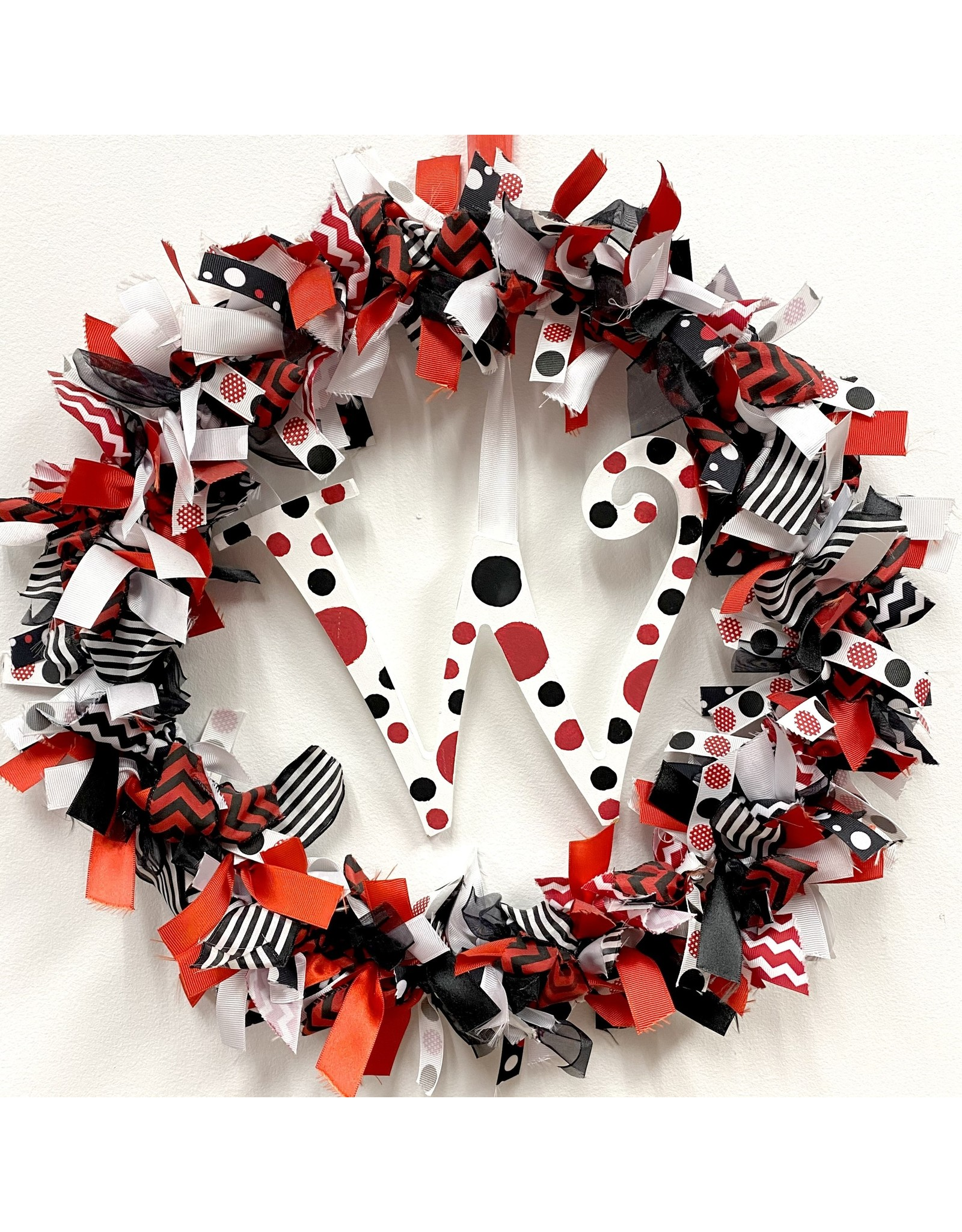 Handmade Vendor WREATH - RIBBON