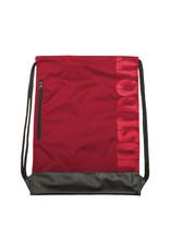 NIKE Brasilia String Bag Sack in Red