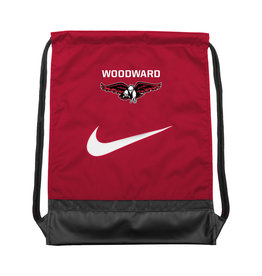 NIKE String Bag in Red