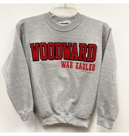 Youth Crew Sweatshirt in Oxford Grey