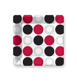 DesignDesign PLATE SQ DESSERT CHIP