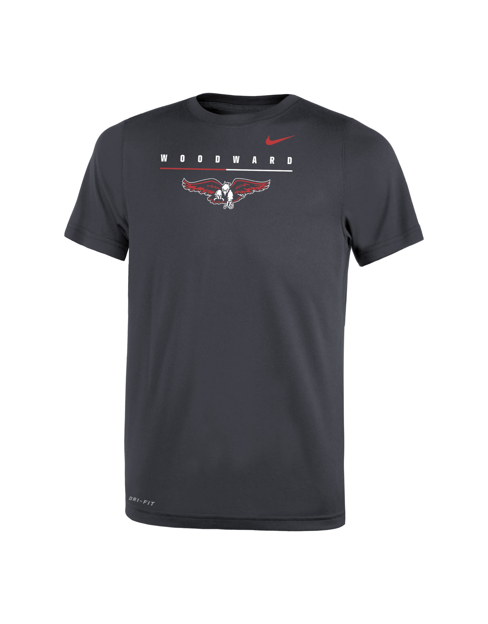 NIKE Youth Legend SS Tee in Anthracite