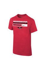 NIKE Youth Core SS T Shirt in Red