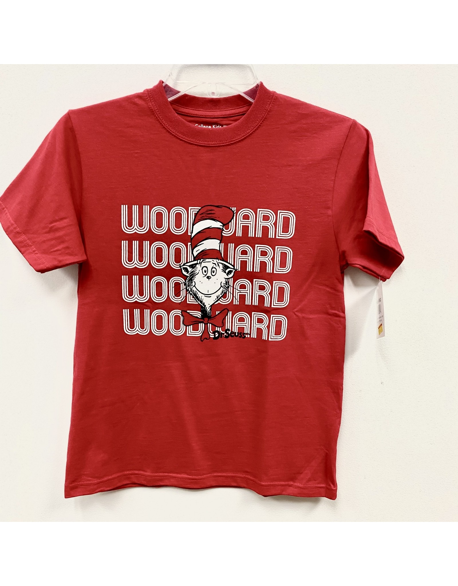 College Kids Sale Youth Cat In The Hat Woodward SS T Shirt