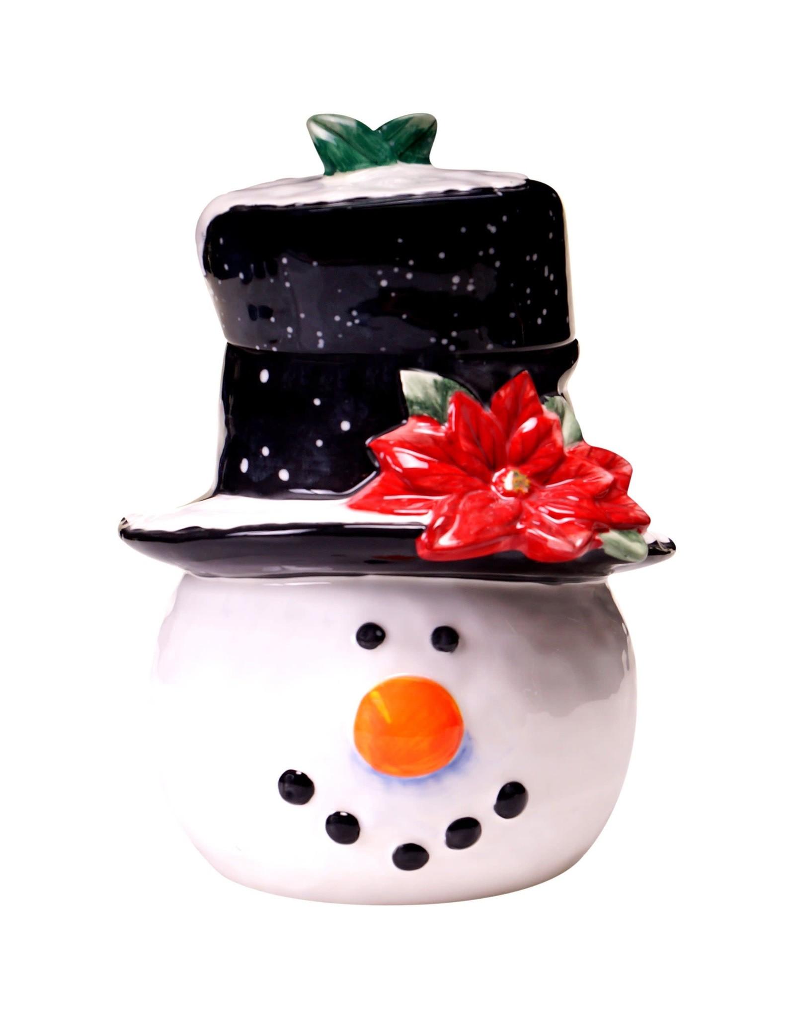 Certified International Cookie Jar Snowman