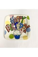 PLATE BIRTHDAY - SQUARE