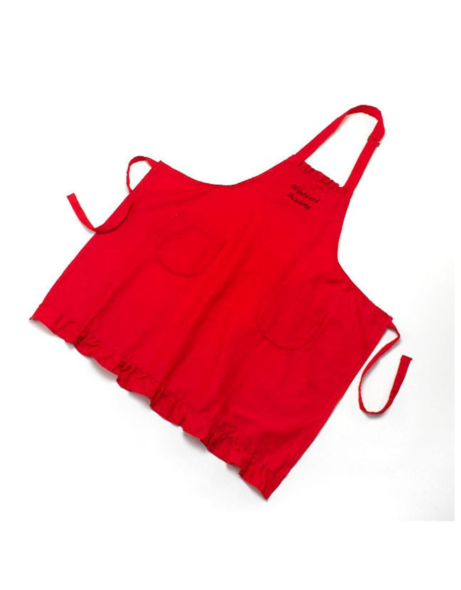 Handmade Vendor SALE APRON RED
