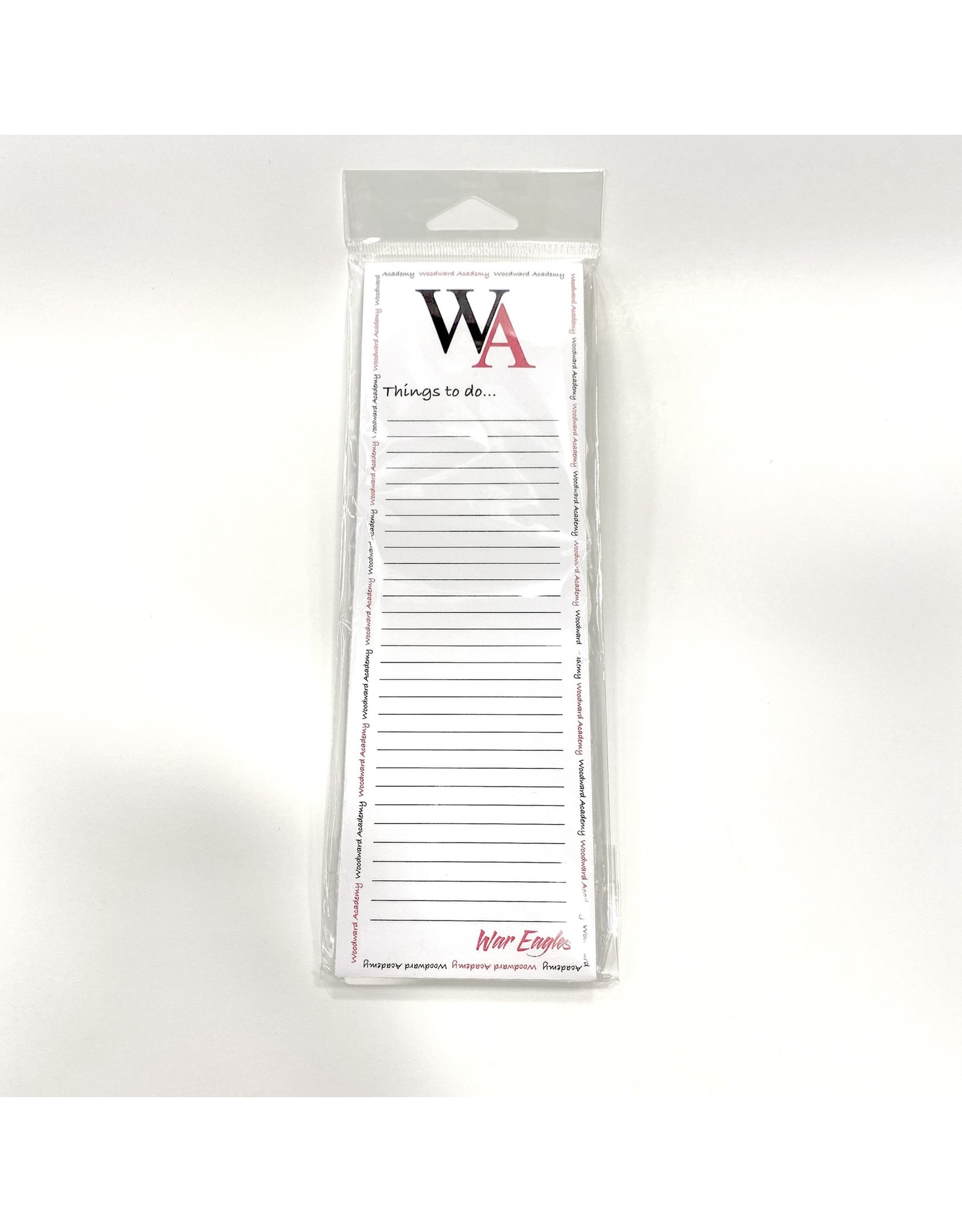 STATIONERY THINGS TO DO MEMO PAD