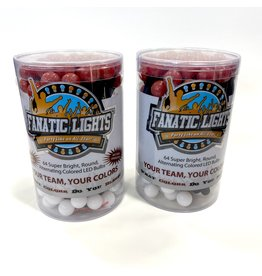 SALE FANATIC LIGHTS RED/WHITE LED -