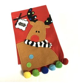 Mud Pie TOWEL MP REINDEER