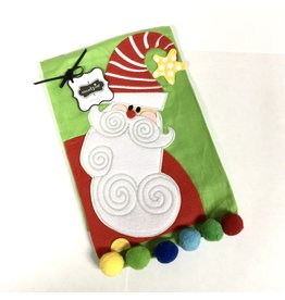 Mud Pie TOWEL MP SANTA