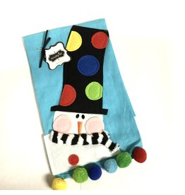 Mud Pie TOWEL MP SNOWMAN