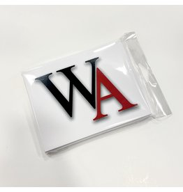 Fanatic Group STATIONERY NOTECARDS WA LOGO (QTY 10)