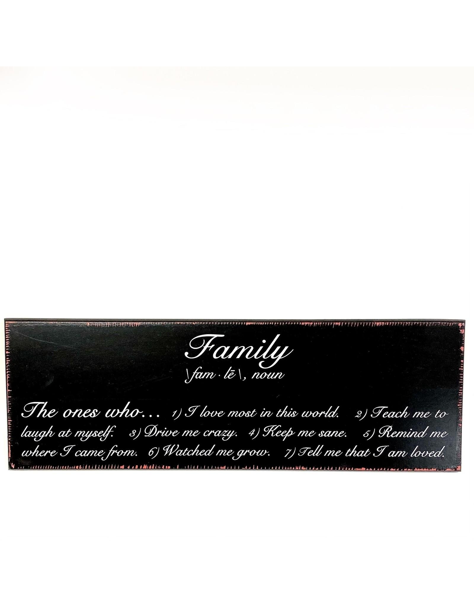 Magnolia Lane SALE PLAQUE ML - FAMILY