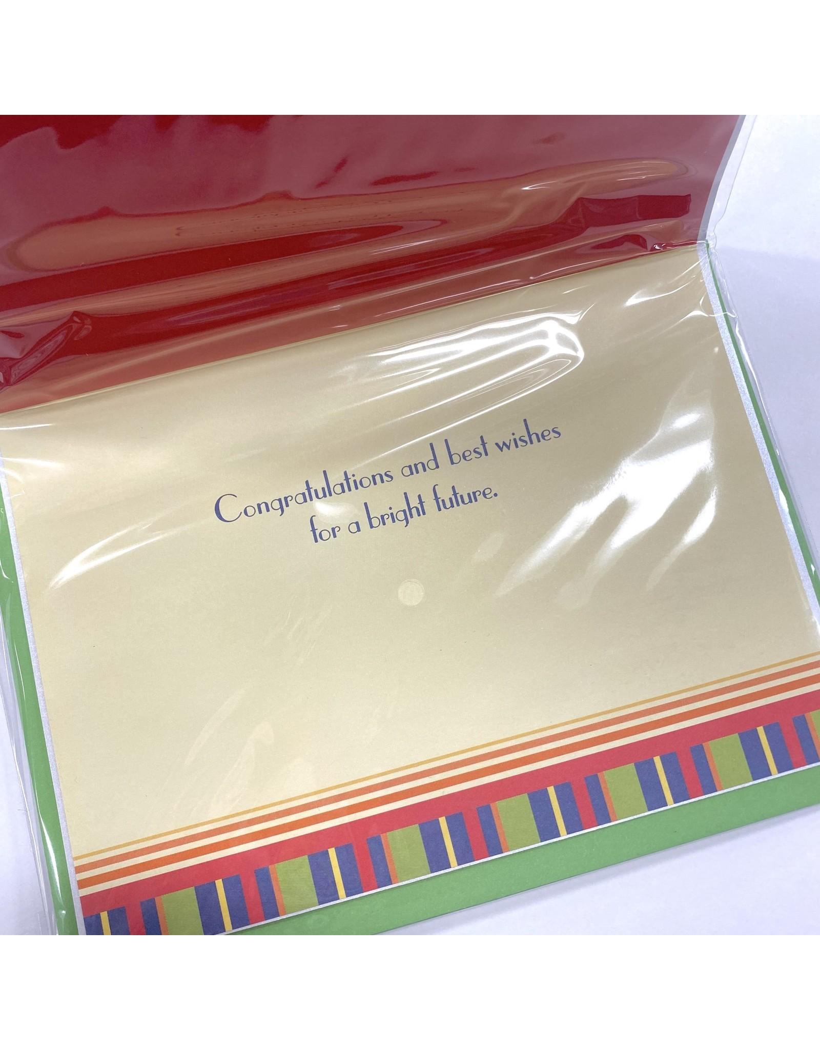 Design Design Greeting Card - GRADUATE