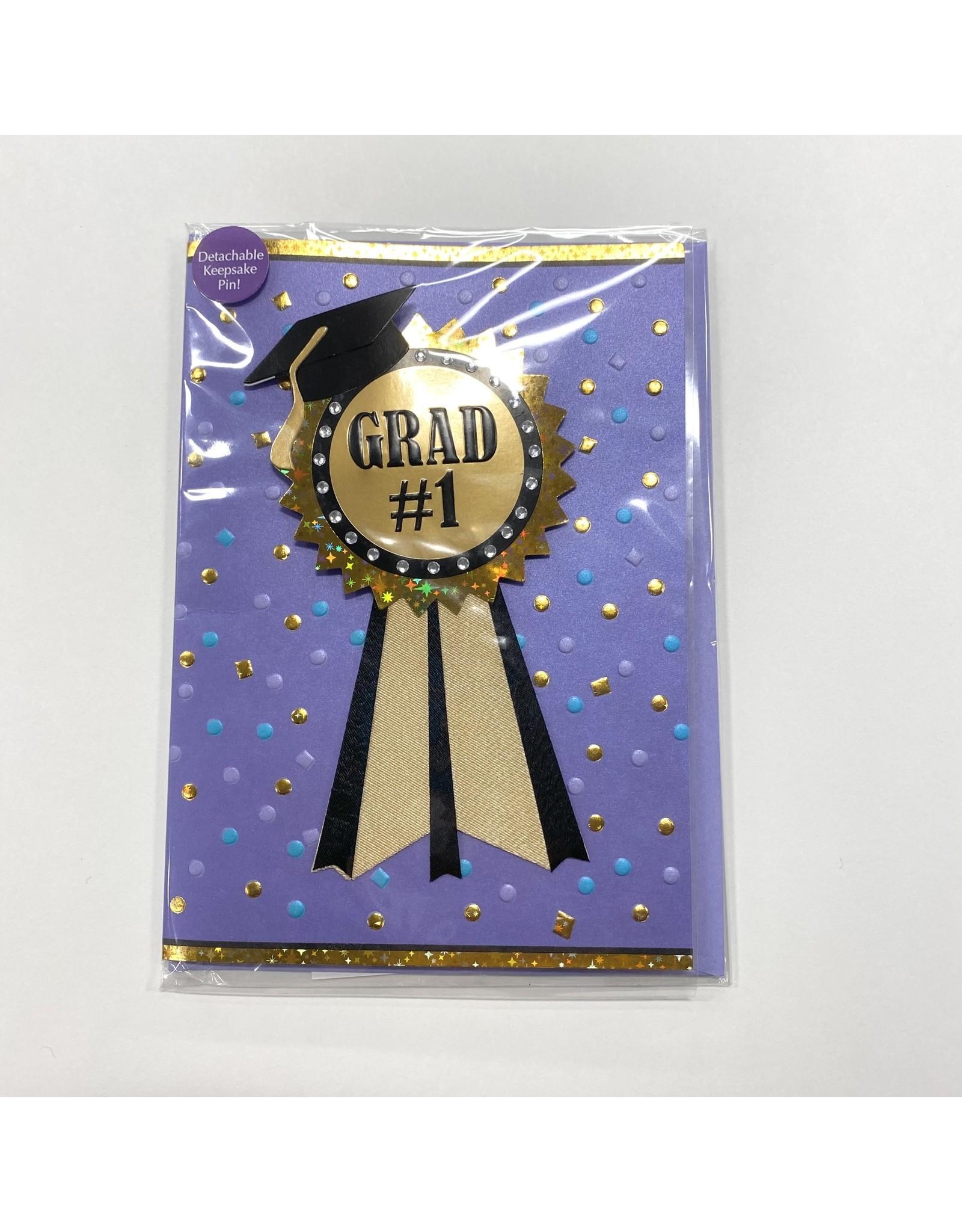 Design Design Greeting Card - #1 GRAD