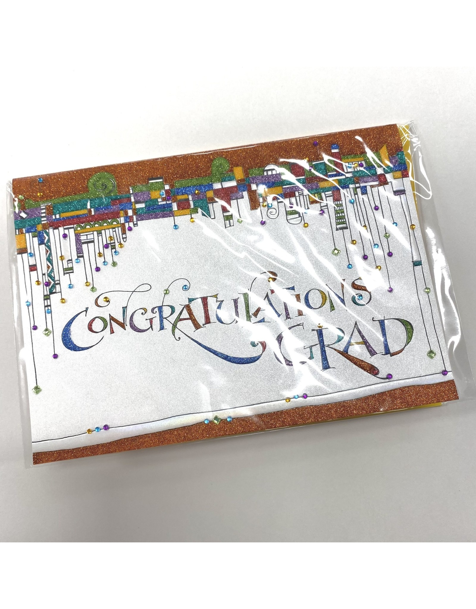 Design Design Greeting Card - Congratulations GRAD