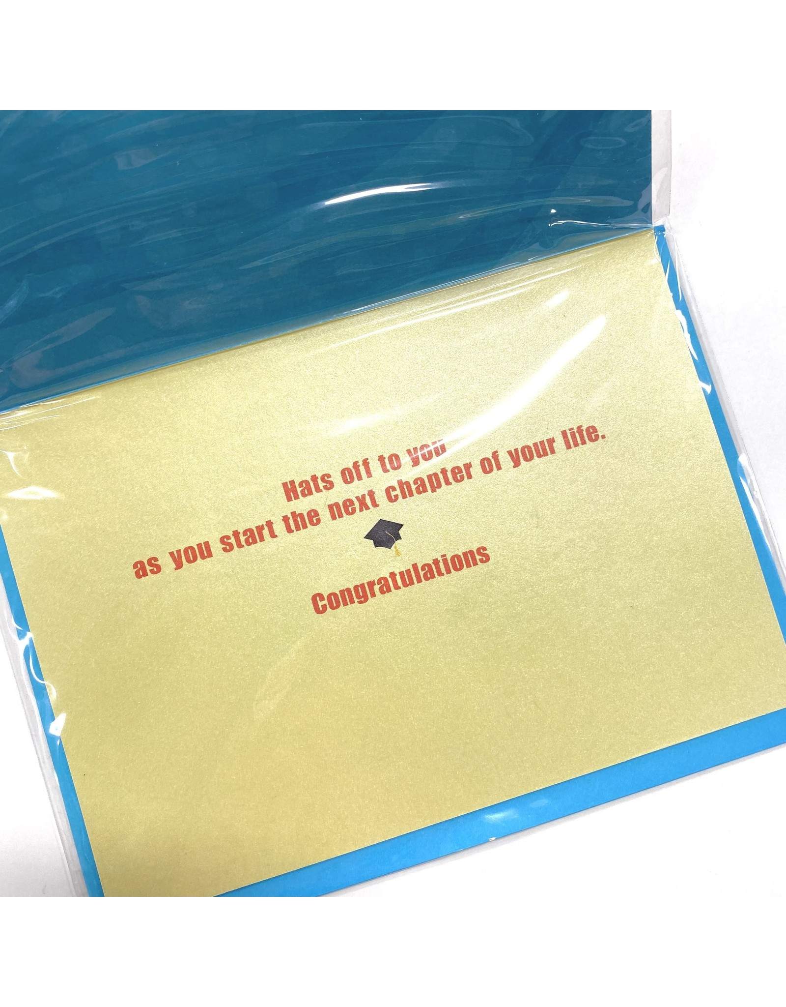 Design Design Greeting Card - GRAD You Are Outstanding!