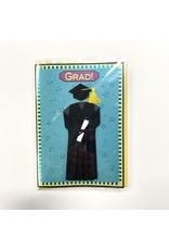 Design Design Greeting Card - Grad!
