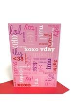 Design Design Greeting Card - xoxo Vday