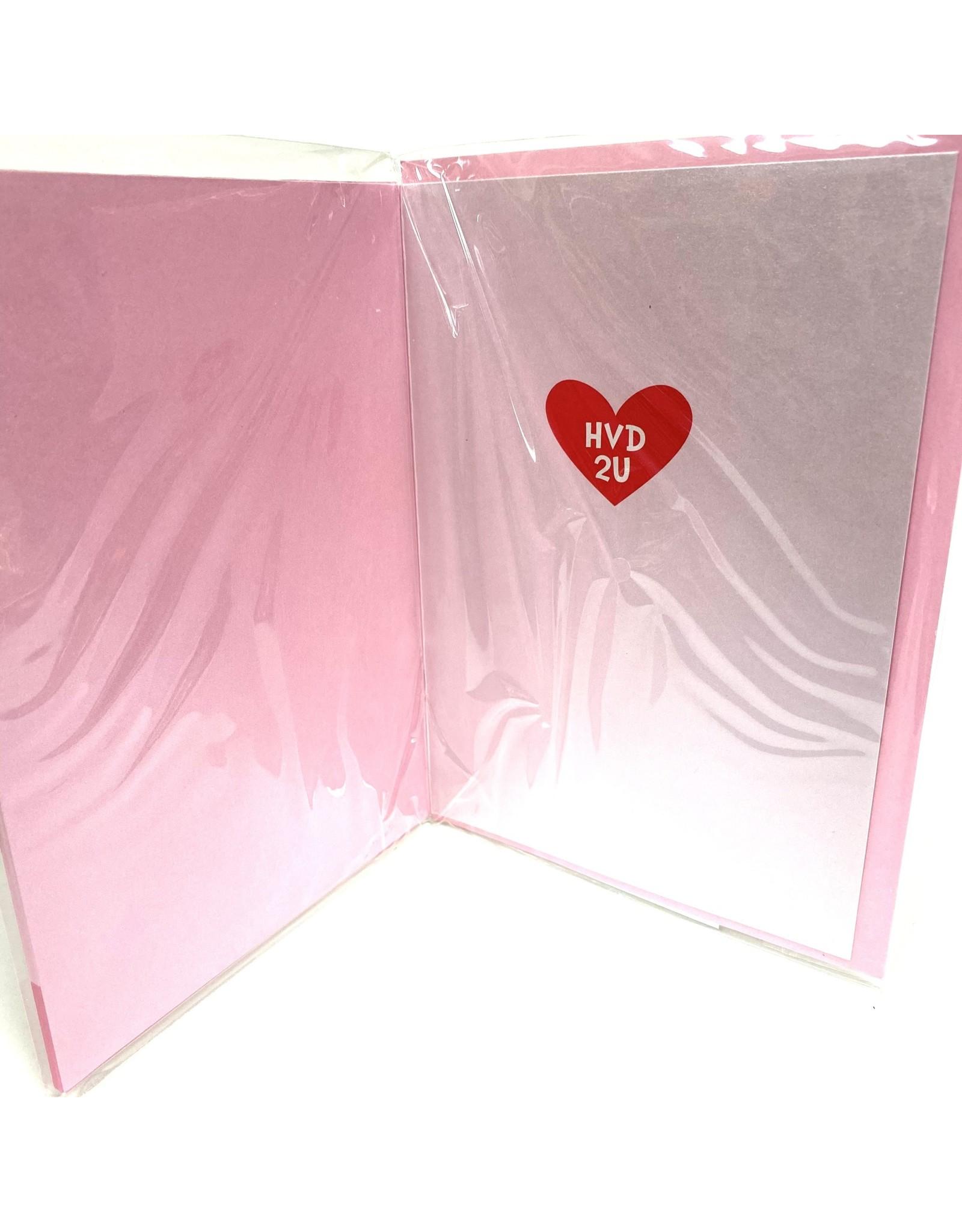 Design Design Greeting Card - LUV U