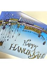 Design Design Greeting Card - Happy Hanukkah
