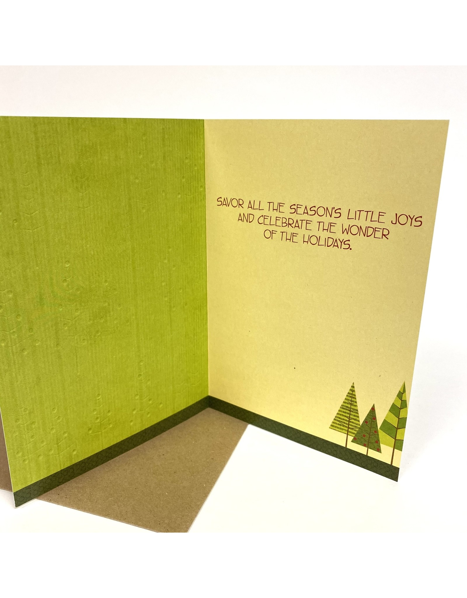 Design Design Greeting Card - wonder of the holidays