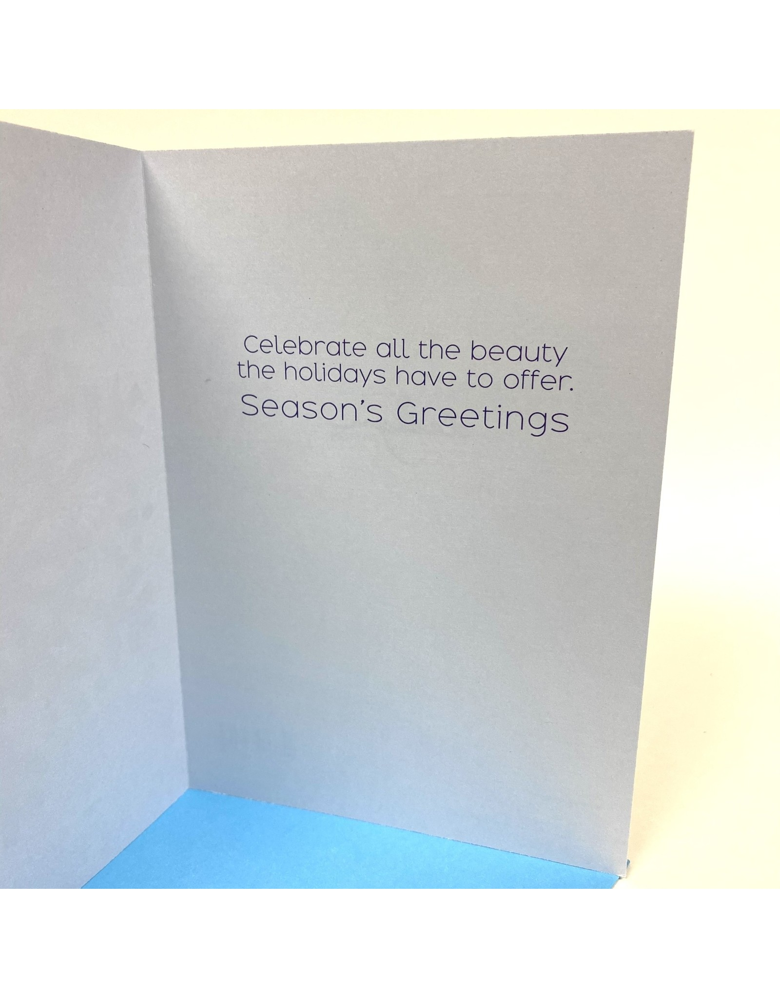 Design Design Greeting Card - Snowflake