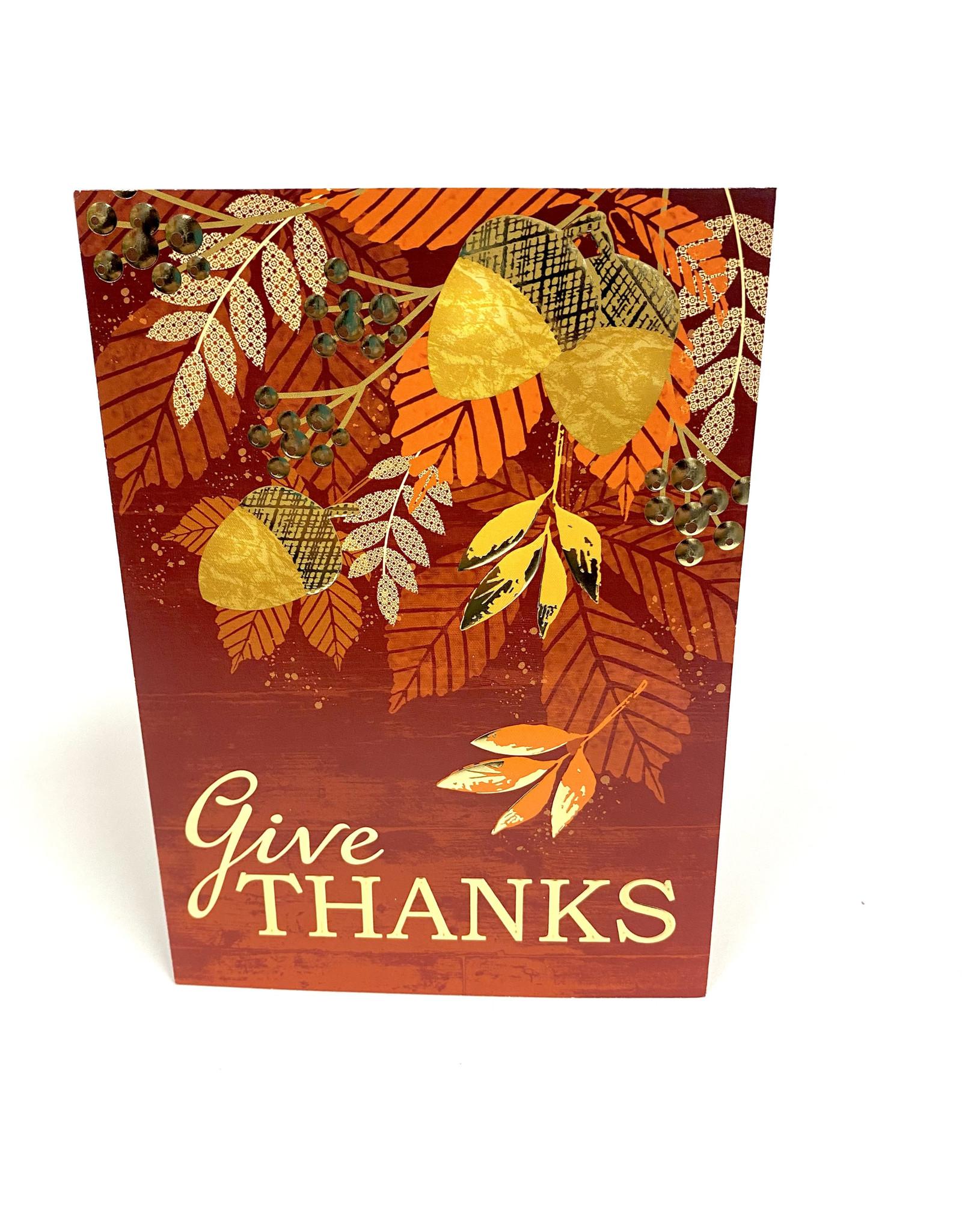 Design Design Greeting Card - Give Thanks