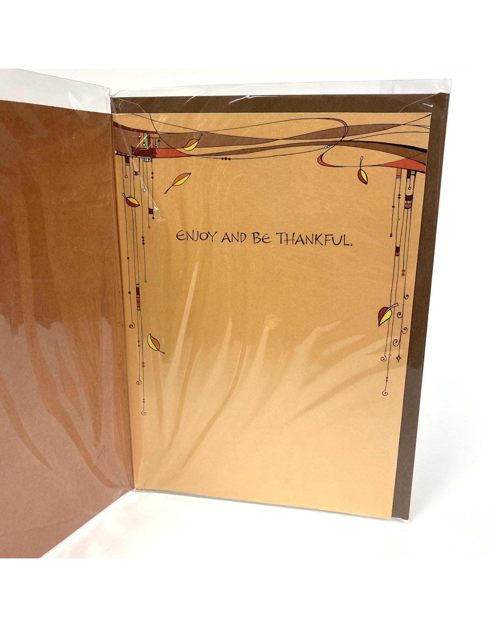 Design Design Greeting Card - Thankful
