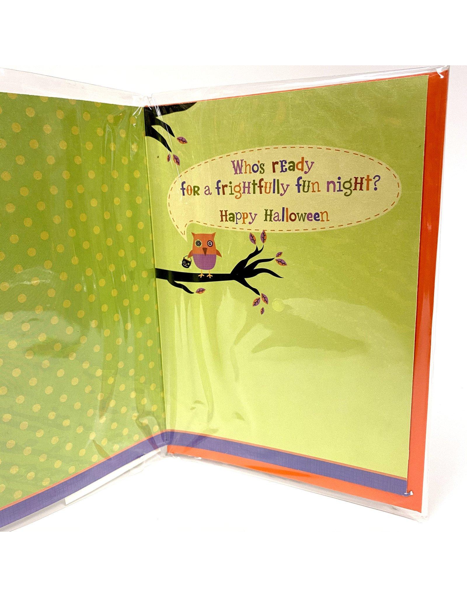 Design Design Greeting Card - Trick or Treat Owl