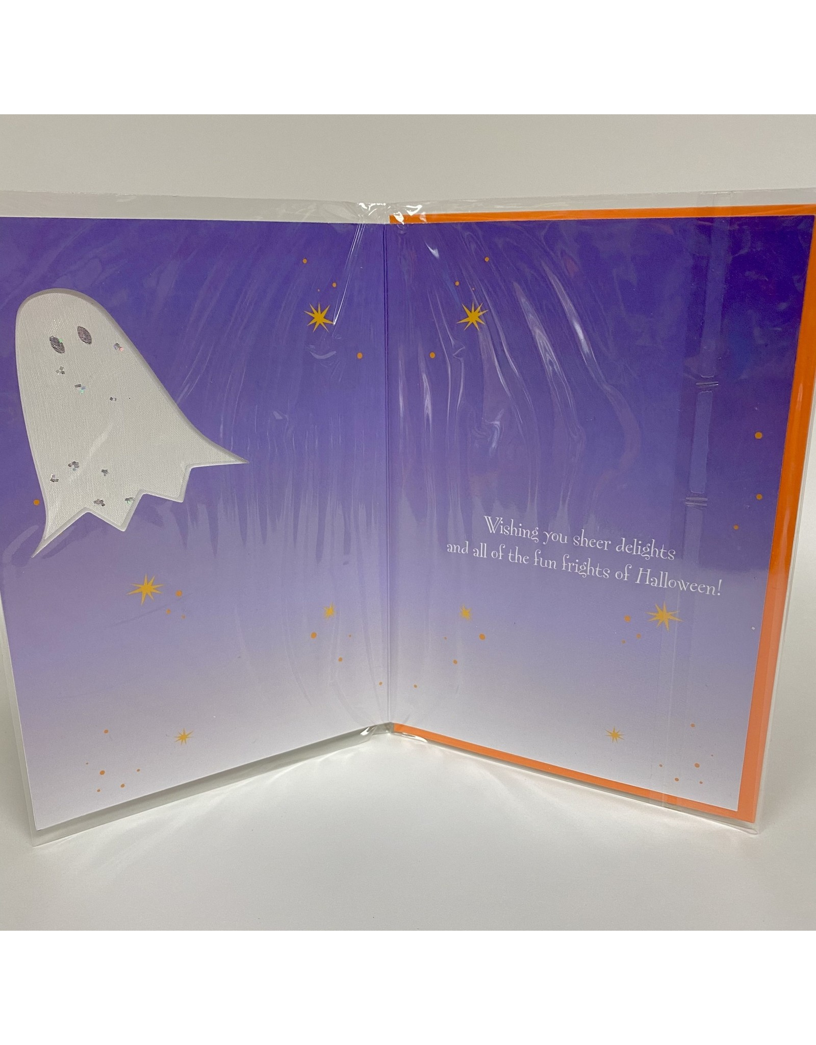 Design Design Greeting Card - Halloween Ghost