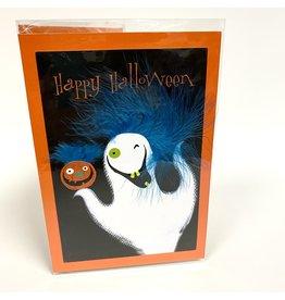 Design Design Greeting Card - Hair Raising  Halloween