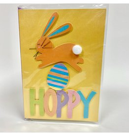 Design Design Greeting Card - Hoppy