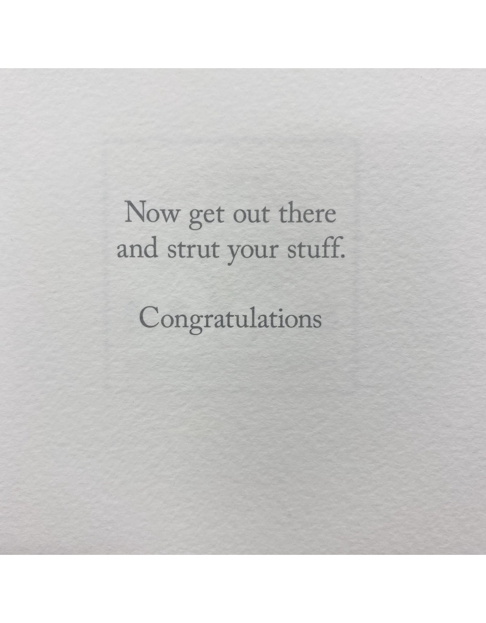 Design Design Greeting Card - You've Graduated!