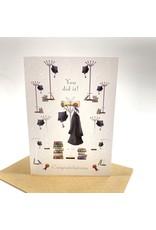 Design Design Greeting Card - Graduation