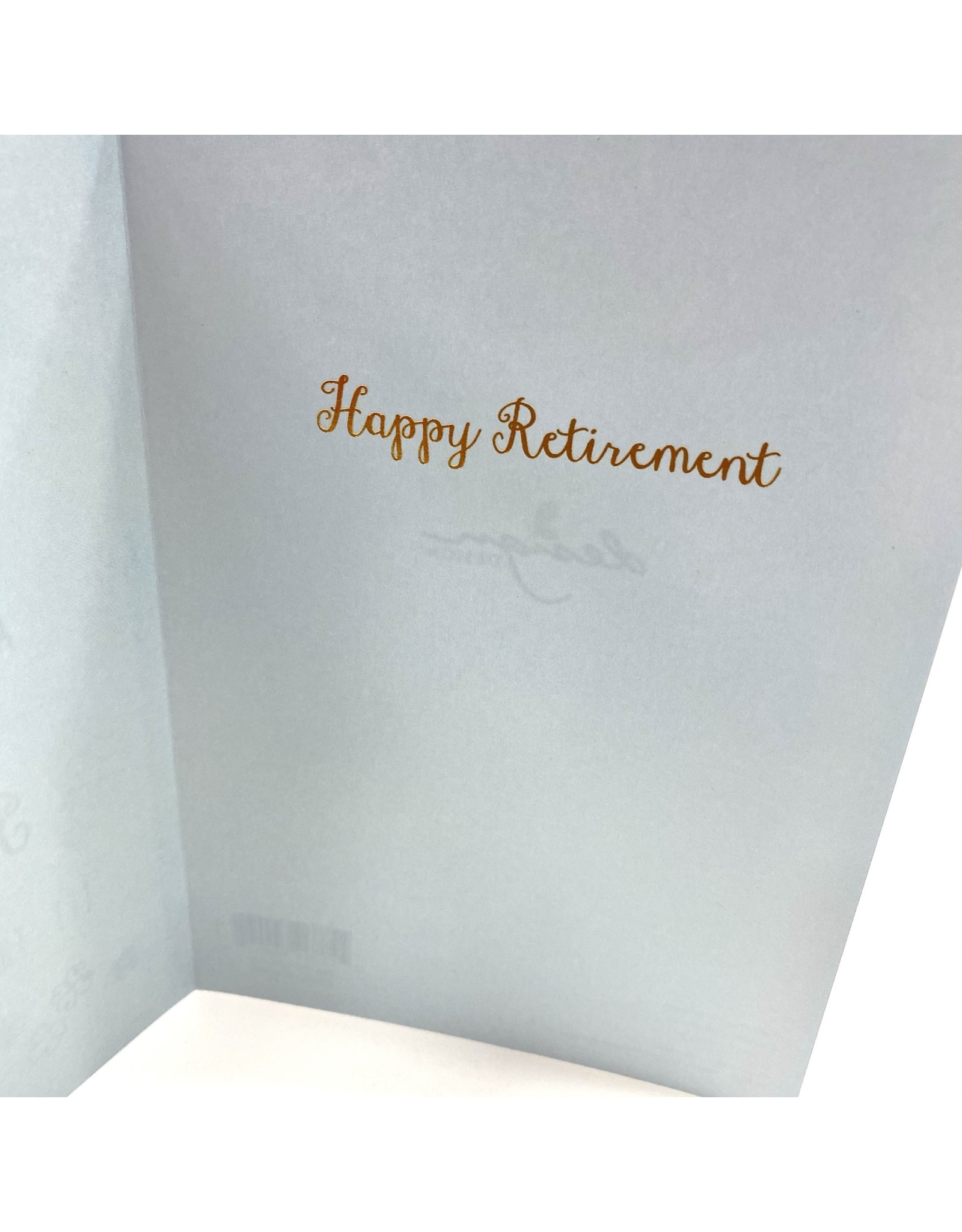 Design Design Greeting Card - Retirement