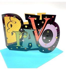 Design Design Greeting Card - Bravo