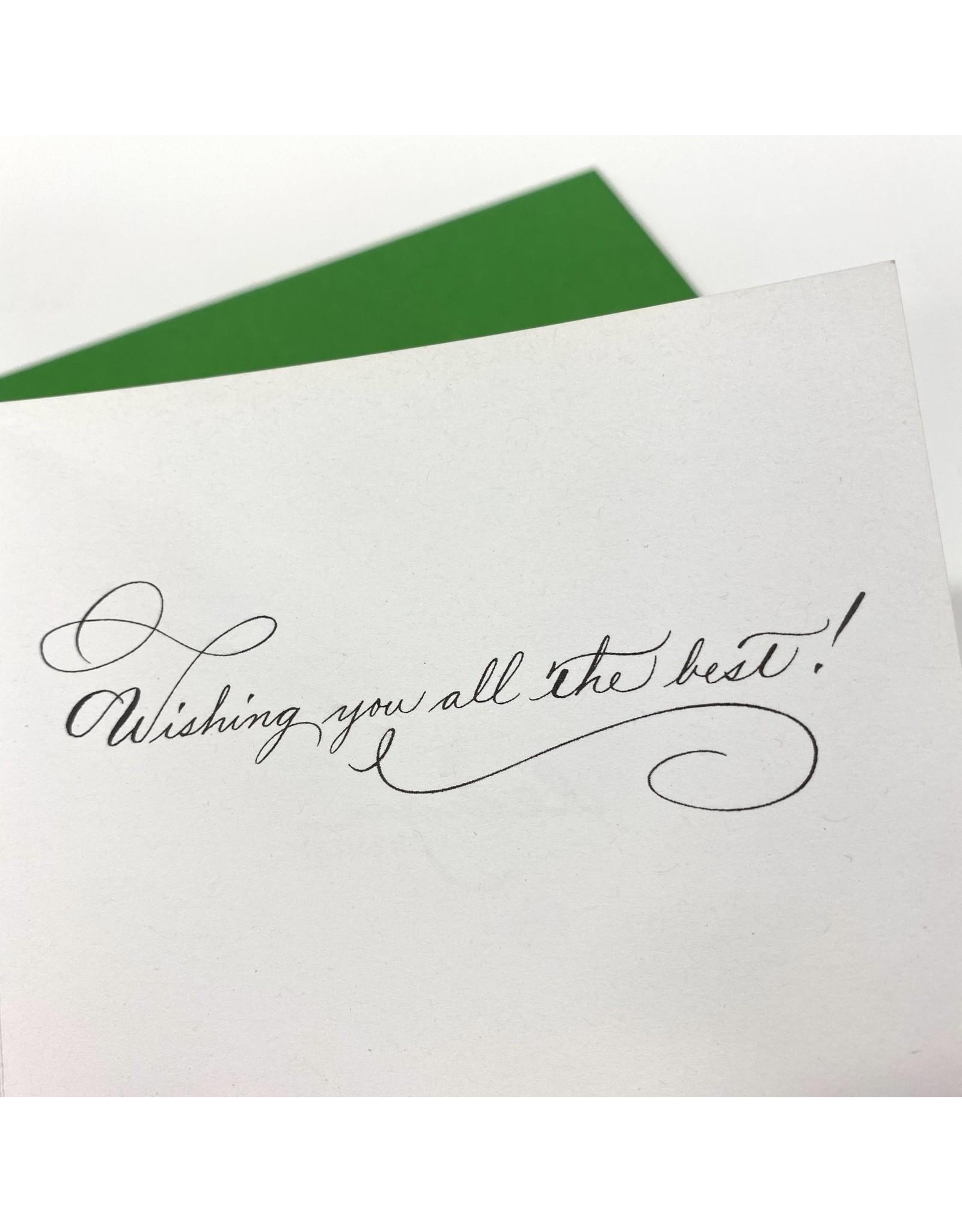 Design Design Greeting Card - Good Luck