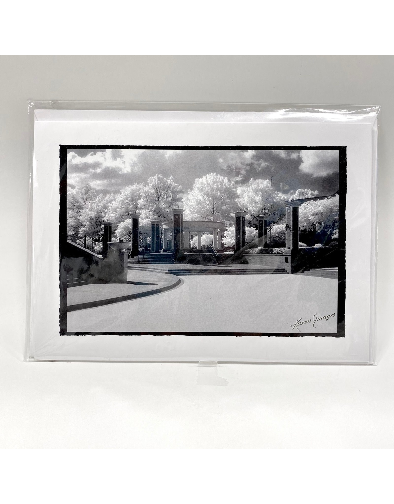 Karen Images Blank Card with Woodward Images